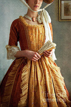 Wealthy Georgian Period Woman Mid Section  by Lee Avison