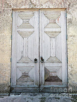 Sharon Williams Eng - Weathered Carved Door 300