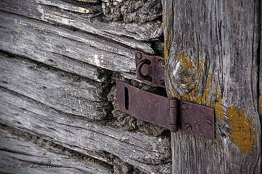 Weathered Padlock Hasp Detail by Images Undefined