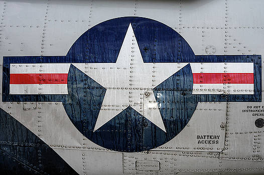Weathered Navy Roundel by Chris Buff