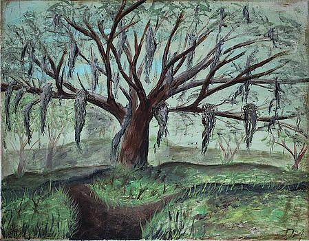 Weeping Trees by Dea Poirier