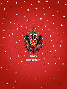 Weihnachtliche Habsburg Doppeladler by Helga Novelli