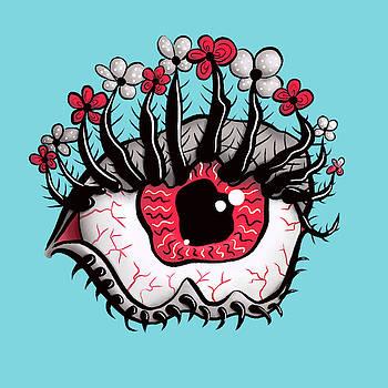 Weird Eye Melting by Boriana Giormova