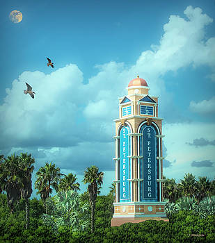 Welcome to St. Petersburg Florida by Jennifer Stackpole