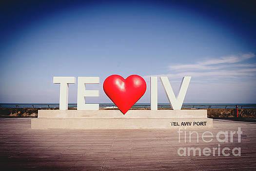 Welcome to TEl Aviv Port by PorqueNo Studios