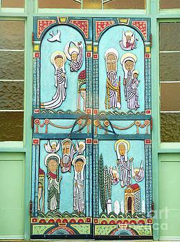 Sharon Williams Eng - Wellfleet Preservation Hall Decorative Door