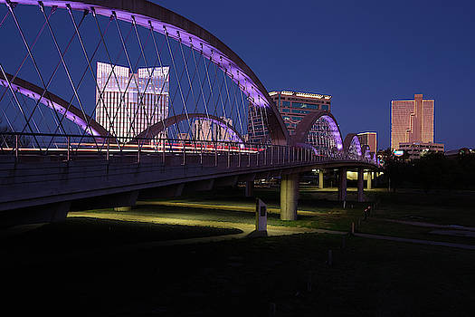 West Seventh Street Bridge Fort Worth 032619 by Rospotte Photography