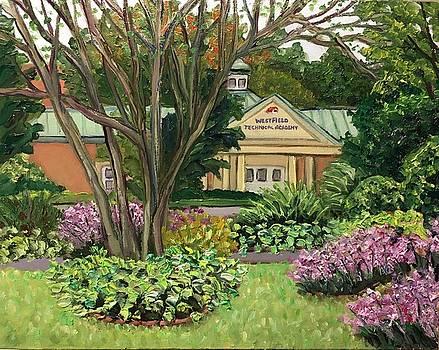 Westfield Technical Academy-View from Grandmother's Garden by Richard Nowak