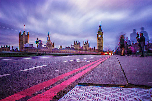 Westminster Nights by Martin Newman