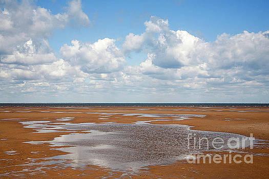Wet Sand, Norfolk by John Edwards