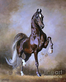 WGC Sir Silver Knight by Jeanne Newton Schoborg