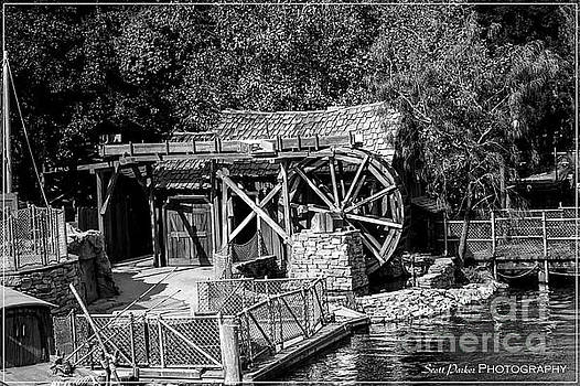 Wheel House Black and White by Scott Parker