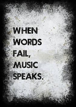 When Words Fail by Ricky Barnard