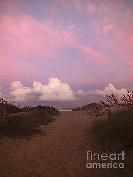 Cindy Treger - Where The Clouds and Ocean Meet - Rodanthe, NC