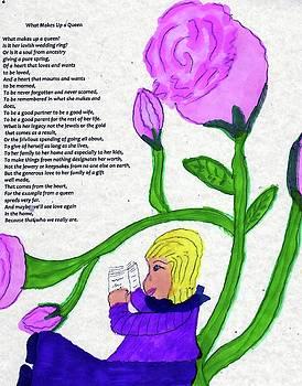 While In  My Rose Garden by Elinor Helen Rakowski