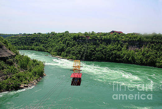 Whirlpool Aero Car Over The Gorge by Doc Braham