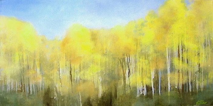 White Birch by Keiko Richter