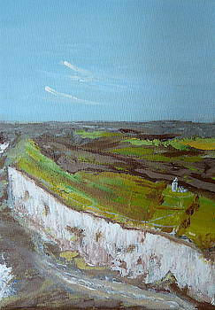 White cliffs of Dover by Inessa Williams
