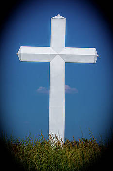 White Metal Cross by Rick Grisolano Photography LLC