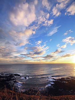 White Point Sunset  by Joe Schofield