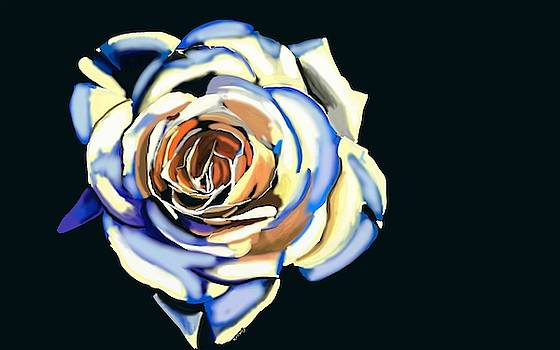 White Rose 2 by Ronni Dewey