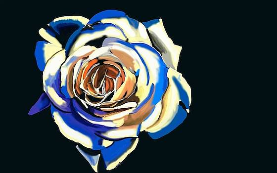 White Rose 1 by Ronni Dewey
