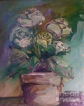 White Roses by Deborah Nell