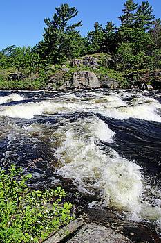 Whitewater Dalles Rapids III by Debbie Oppermann