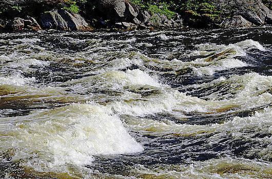 Whitewater Rapids by Debbie Oppermann