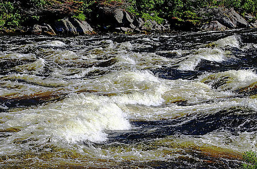 Whitewater Rapids I by Debbie Oppermann