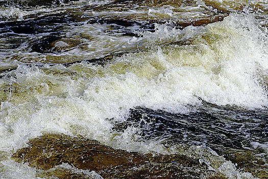 Whitewater Rapids IV by Debbie Oppermann