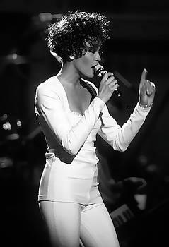 Whitney Houston Performing by Daniel Hagerman