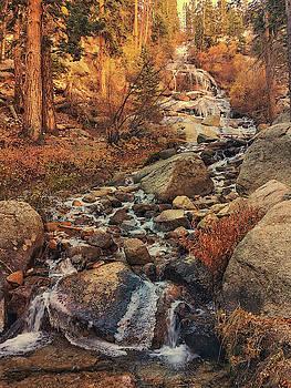 Whitney Portal Cascades by John Hight