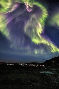 Wild Aurora by Frank Olsen