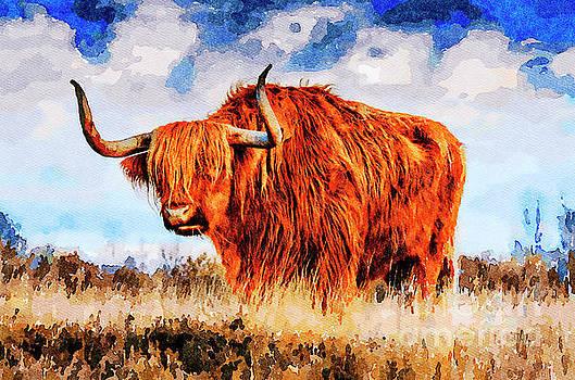 Wild Buffalo by Leon Woods
