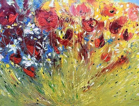 Wild Flowers by Evelina Popilian