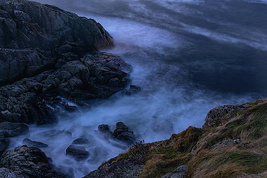 Wild Water In The Rocks by Kai Mueller