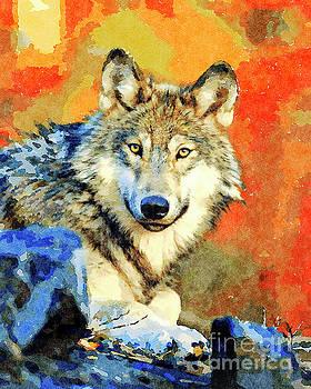 Wild Wolf by Leon Woods