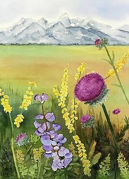 Wildflowers in the Tetons by Beth Fontenot