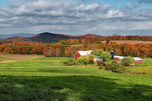 Willey Farm in Fall by Tim Kirchoff