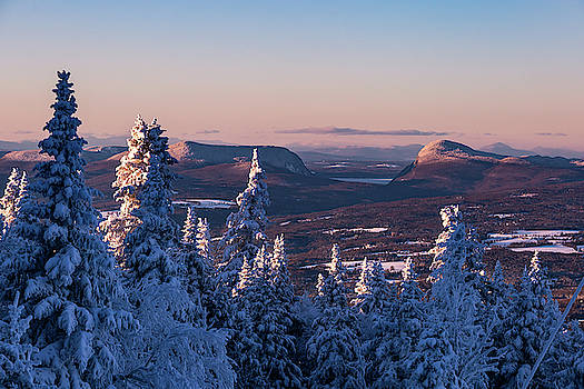 Willoughby Gap Winter by Tim Kirchoff