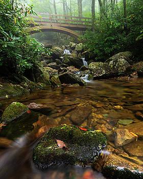 Wilson Creek Bridge Tanawha Trail - Blue Ridge Parkway by Mike Koenig