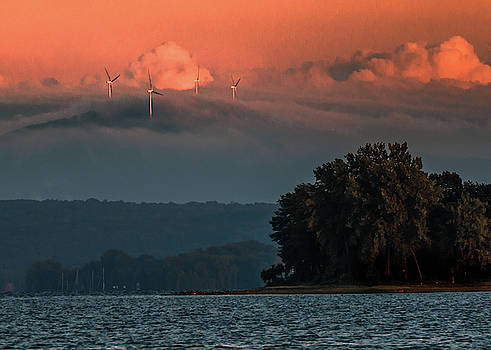Wind and the Lake by Tim Kirchoff