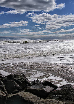 Wind Swept Waves by John Loreaux
