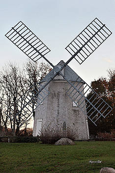 Windmill Along Cape Cod by Suzanne Gaff