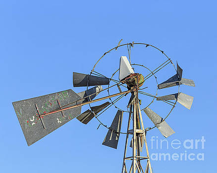 Windmill Weathervane by Edward Fielding
