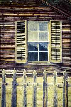 Window and Picket Fence by Jill Battaglia