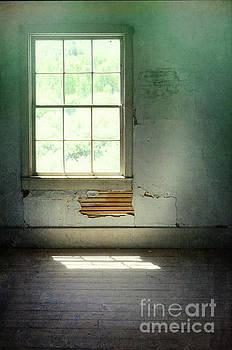 Window in Abandoned Room by Jill Battaglia