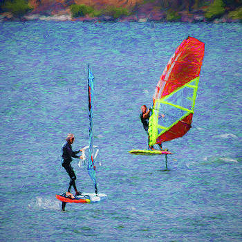 Mike Penney - windsurfing 121