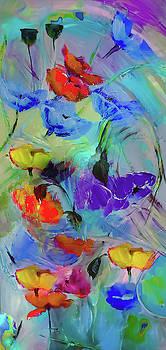 Windswept Poppy by Lisa Kaiser